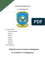 Asuhan Keperawatan Pada CA Naso Faringbaru