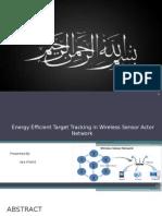 Presentation  on wireless sensor  network
