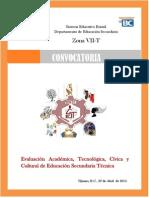 Convocatoria Encuentro de Zona 2015 Oficial
