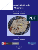 Microscopía Optica de Minerales