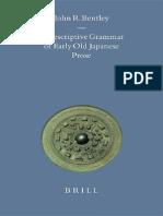 A descriptive grammar of early old Japanese prose.pdf