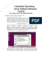Tugas Embedded Operating System - Demo Aplikasi Berbasis TinyOS