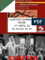 Chapter Summary of TO KILL A MOCKINGBIRD