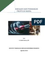 Pemeriksaaan Dan Reparasi Baling&Poros (25!08!2014)