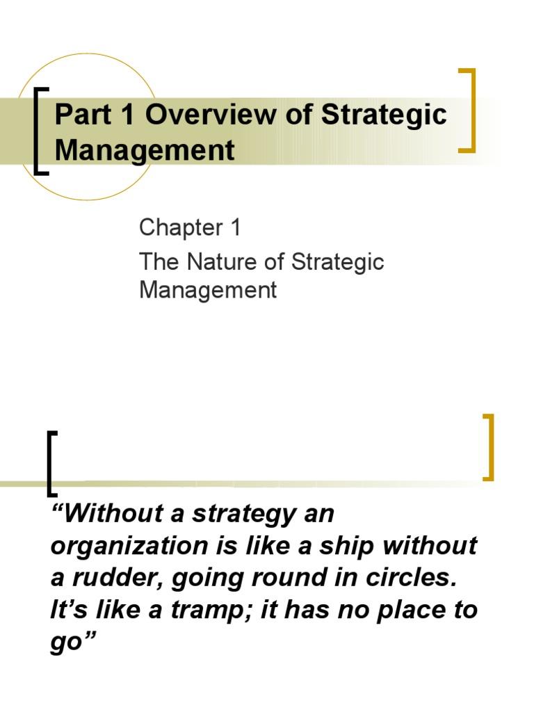 business ethics and strategic management pdf