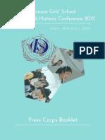 DGSMUN15 Press Corps Booklet