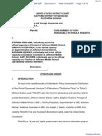 M.A.L. et al v. Kinsland et al - Document No. 9