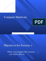 Computer Hardware Exercise 01