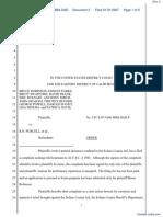 (PC) Paris v. Purcell et al - Document No. 2