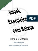 eBook Exercicios Com Baixos