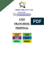 Franchise Proposal