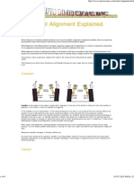Wheel Alignment Explained