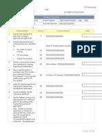 PMO Closing Checklist