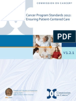 Cancer Program Standards 2012