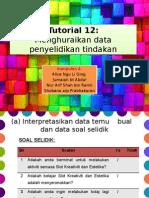 Tutorial 12
