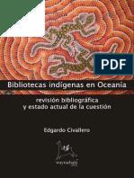 Bibliotecas indígenas en Oceanía