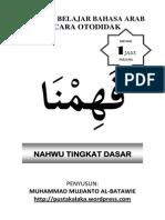 Bahasa Arab Nahwu Dasar Contoh