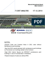 Project Cost Analysis 2014