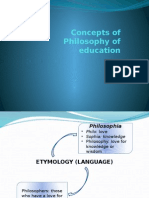 2 Basic Concepts of Philosophy of Education