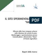 Fasce Tampone Per Riduzione Nitrati Sito Nicolas