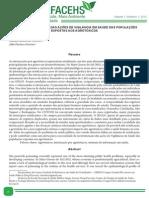 PERFIL EPIDEMIOLÓGICO DAS AÇÕES DE VIGILÂNCIA EM SAÚDE DAS POPULAÇÕES EXPOSTAS AOS AGROTÓXICOS
