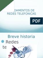 Fundamentos redes telefónicas