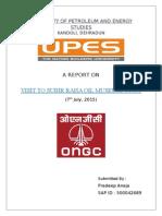 ONGC Visit Report