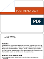 Anemia Post Hemoragik