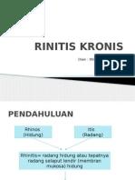 RINITIS KRONIS