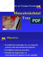 Chapter 8, Musculoskeletal Trauma