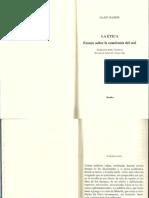 Badiou. 1993. La Ética.4