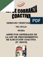 Ley Cobranza Coactiva Modificada