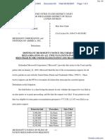 Anascape, Ltd v. Microsoft Corp. et al - Document No. 63