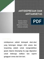 Antidepresan Dan Antiansietas
