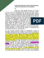 La Doctrina de Emmanuel Mounier Sobre El Personalismo y Las Bases Generales de La Persona y La Sociedad