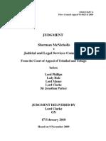 JCPC 2009 0023 Judgment