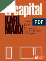 El Capital (P. Scaron) Libro Pr - Karl Marx