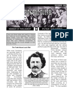 Peter Goldring's Louis Riel pamphlet