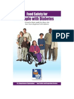 Http Www.fsis.Usda.gov PDF Food Safety for Diabetics