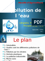 La Pollution de l'Eau 2015