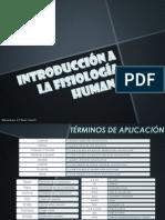 1° CLASE (Intro a Fisiología y Pricp. Homeostasis)