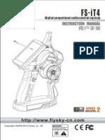 Fly Sky FS-iT4 Instruction Manual