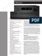Data Sheet - T 773 AV Receiver