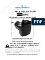 Harbor Freight Pump 65836
