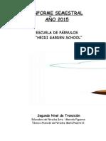 Informe de Kinder (2015)