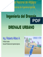 07aDrenaje Urbano Introduccion