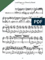 Brahms Variations on a Theme by Handel, Op 24