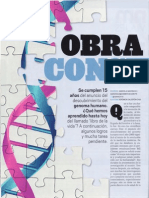 15 años del descubrimiento del genoma humano
