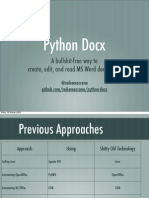 Python Docx