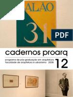 cadernos proarq 12 - 2008